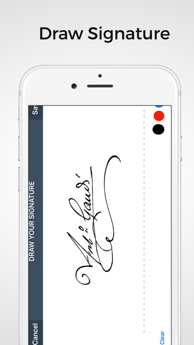 SignMe - Sign & Fill PDF Forms Screenshot on iOS
