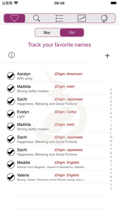 Baby Names (•◡•)Screenshot of 5