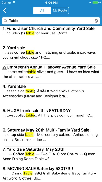 Yard Sale Treasure Map screenshot-3