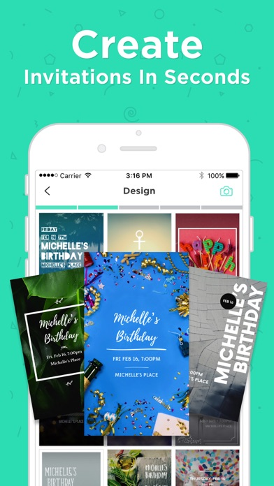 Hobnob Group Invitation Maker Screenshot