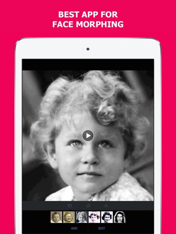 MORPH - Face Aging App Screenshots