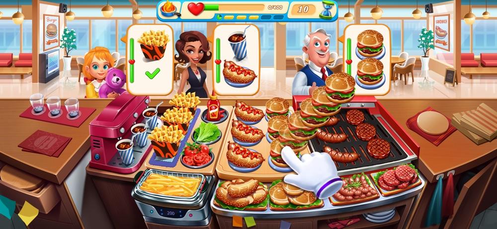 Cooking Marina - Cooking games hack tool