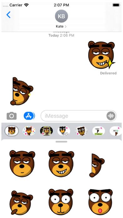 Beb Animation 6 Stickers Screenshot