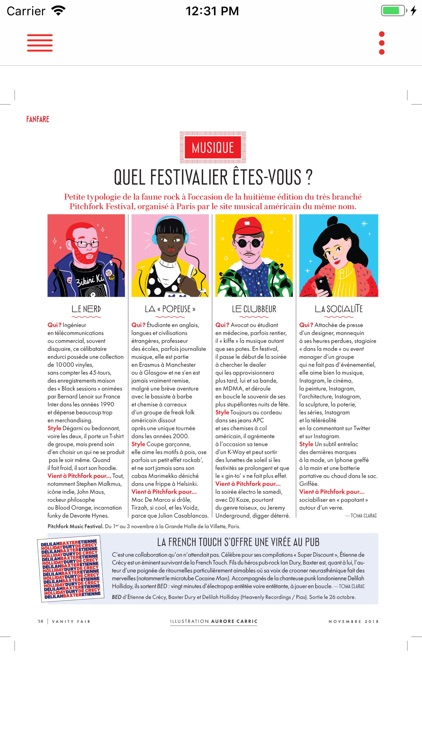 Vanity Fair Magazine France screenshot-4