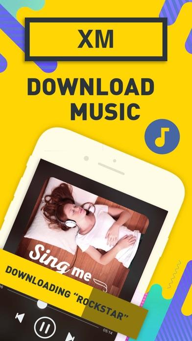 音楽 ダウンロード XM ダウンローダー 音楽アプリのおすすめ画像1
