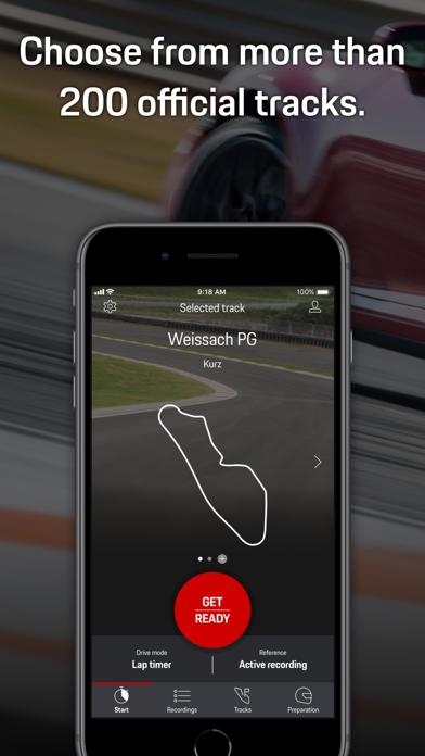 Screenshot #1 pour Porsche Track Precision