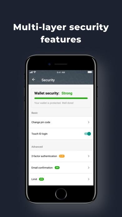 EOS(イオス)仮想通貨ウォレット: Freewalletのスクリーンショット4