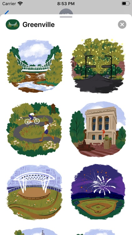 Greenville Stickers screenshot-2