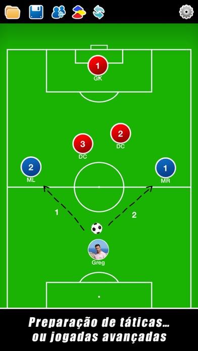 Screenshot for Quadro Tático: Futebol++ in Brazil App Store