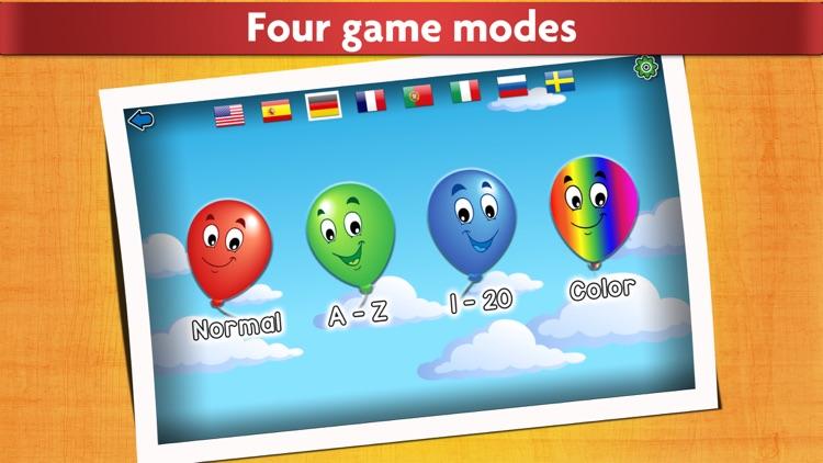 Kids Balloon Pop Language Game screenshot-0