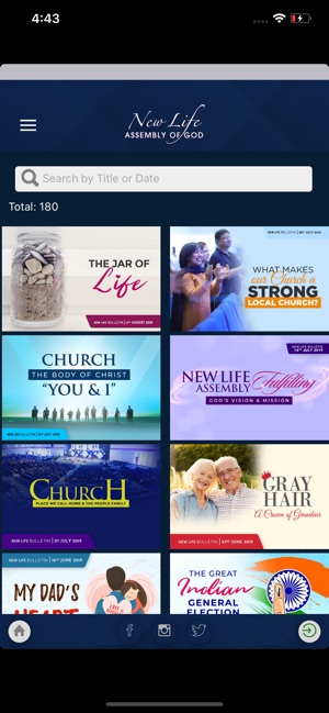 New Life Assembly of God Hyd on the App Store