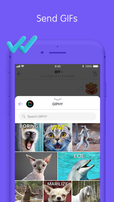 Screenshot for Viber Messenger: Chats & Calls in Kuwait App Store