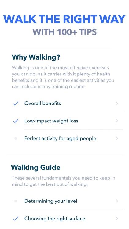 Walking by GetFit screenshot-5