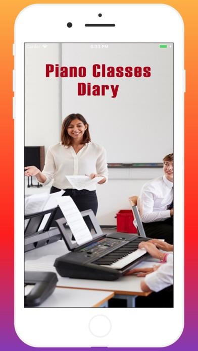 Piano Classes Diary