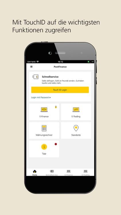 PostFinance Mobile screenshot-0