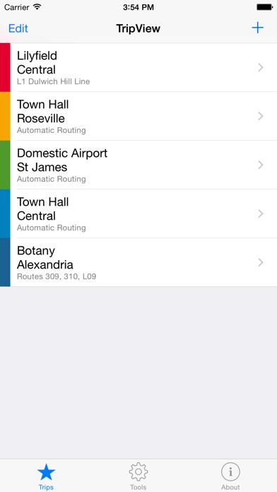 Tripview review screenshots