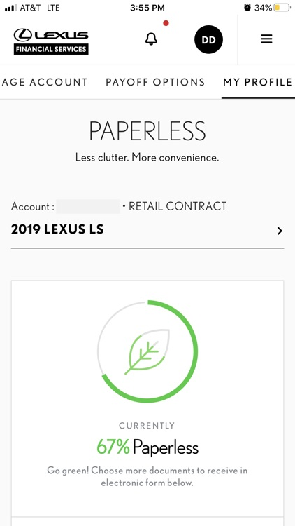 myLFS - Lexus Financial screenshot-3