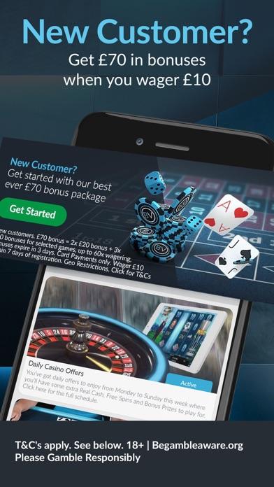 BetVictor: Online Casino Games screenshot two