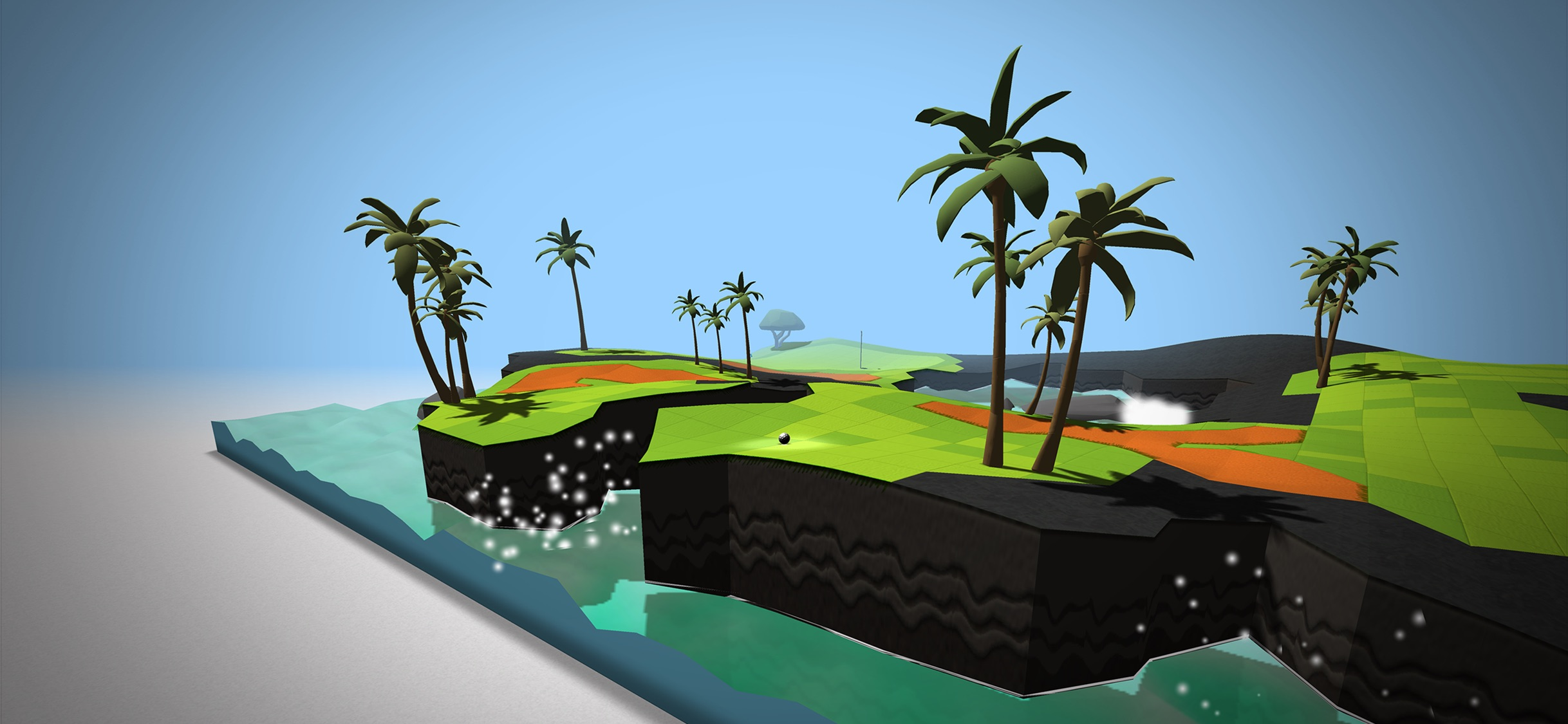 Screenshot do app OK Golf
