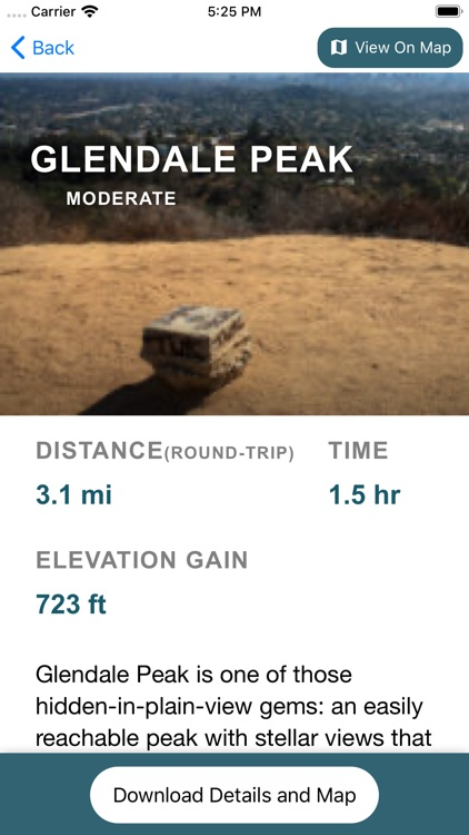 ModernHiker: California Trails screenshot-3