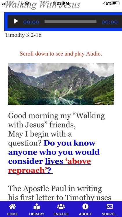 "Daily ""Walking with Jesus"" screenshot-7"