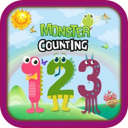 Monster Math Counting Games
