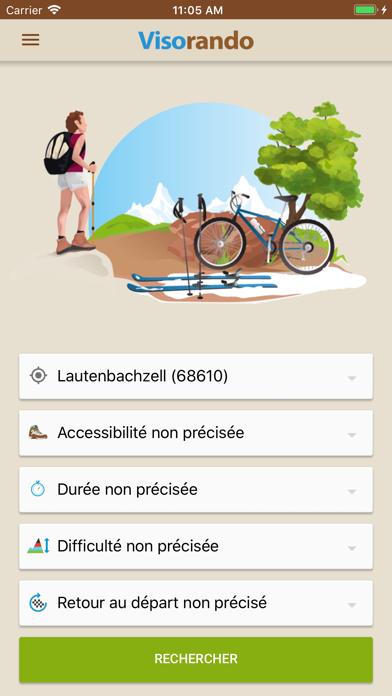 Télécharger Visorando - Idées de randonnée pour Pc