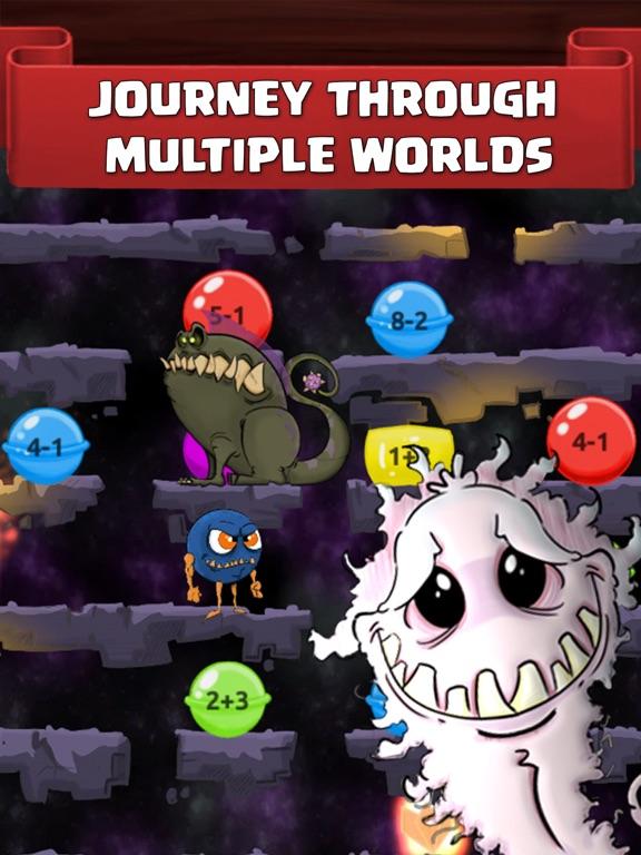 Monster Math School: Fun Gamesのおすすめ画像2