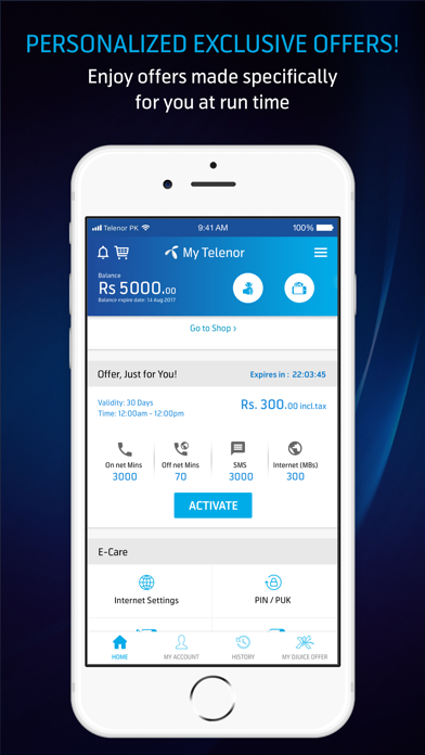 My Telenor by Telenor Pakistan (iOS, United States) - SearchMan App