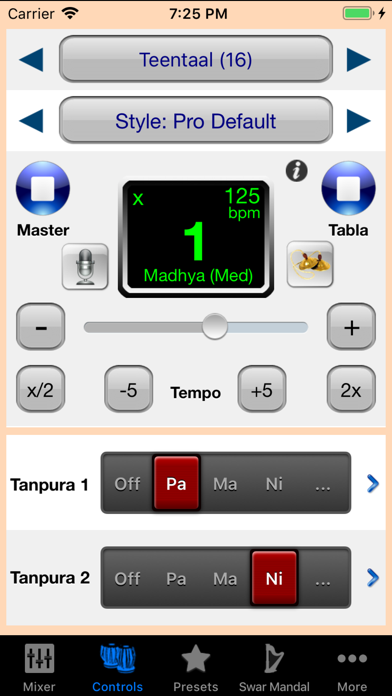 Screenshot for iTablaPro in India App Store
