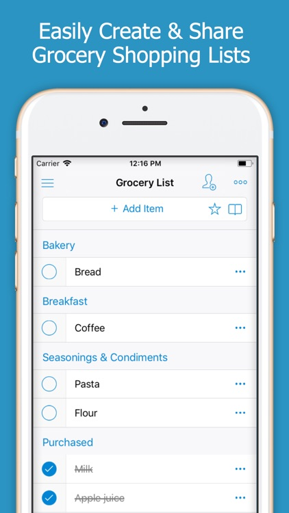 Shoppylist (Shopping List) screenshot-0