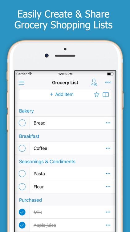 Shoppylist (Shopping List)
