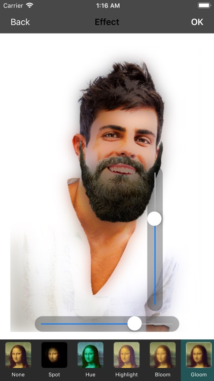 Men beard photo editor Mustach screenshot-3