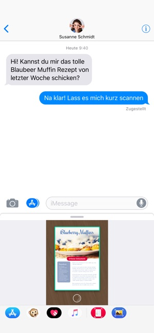 ‎Scanbot - Scanner App & Fax Screenshot