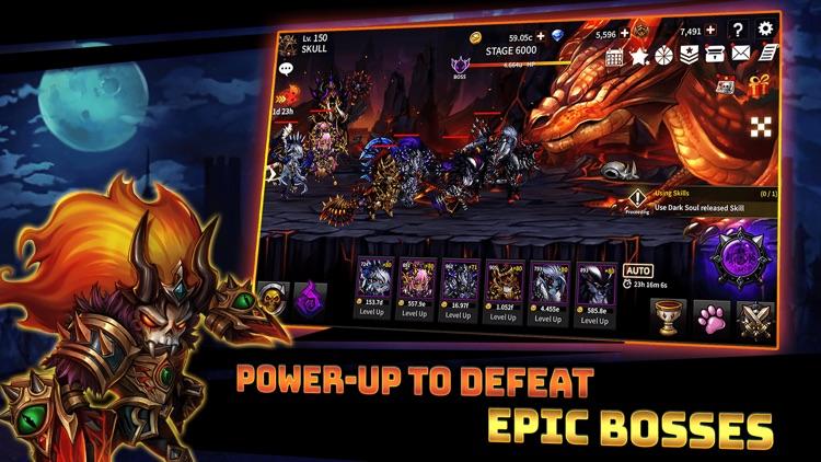 Skull Arena : Idle Hero RPG screenshot-3