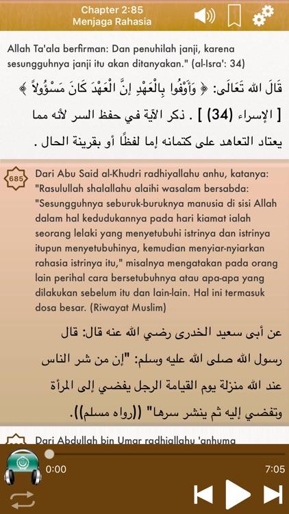 Riyad Salihin Audio Indonesian screenshot-3