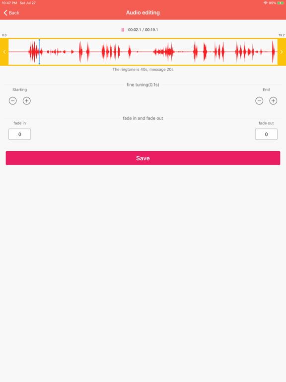 Ringtones for iPhone Music Pro screenshot #3