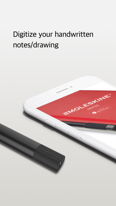 Moleskine Notes Screenshot
