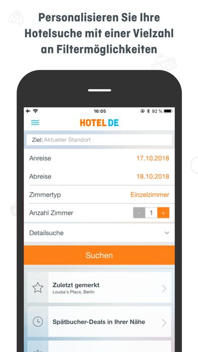 HOTEL DE BizScreenshot von 3