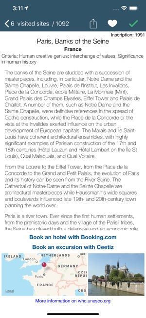 World Heritage - UNESCO List on the App Store