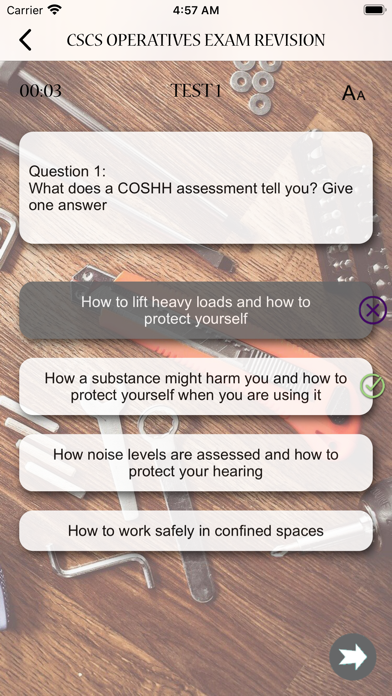CSCS Operatives Exam Revision screenshot 8