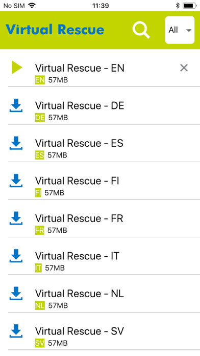 ZOLL's Virtual Rescue Hero screenshot three