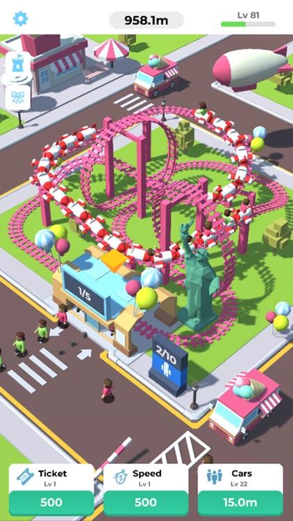 Idle Roller Coaster screenshot-0