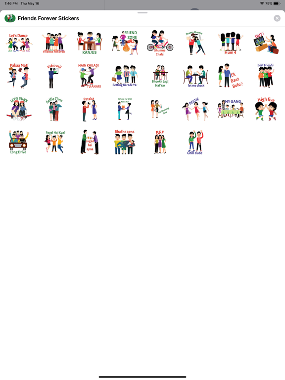 Friends Forever Stickers screenshot 4