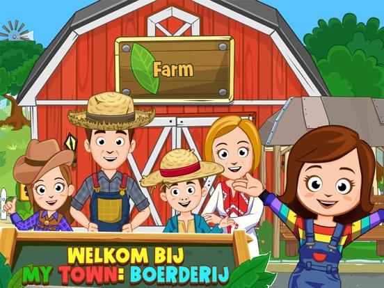 My Town : Farm iPad app afbeelding 1