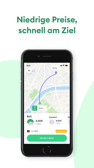 Screenshot for Bolt (Taxify) in Switzerland App Store