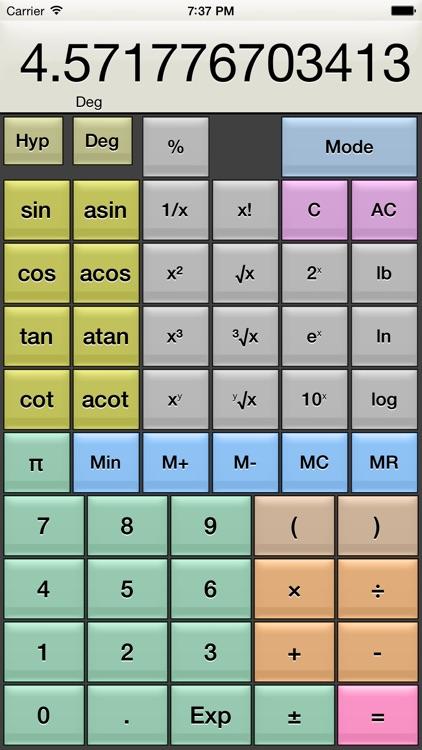 Kalkulilo (Calculator) screenshot-3