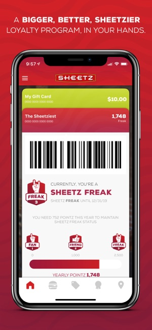 Sheetz® on the App Store