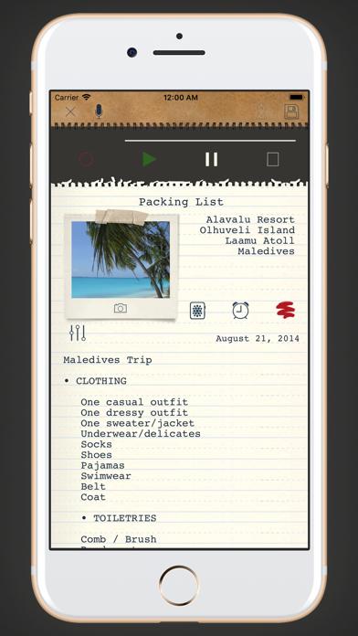 memono Notizen + TagebuchScreenshot von 2