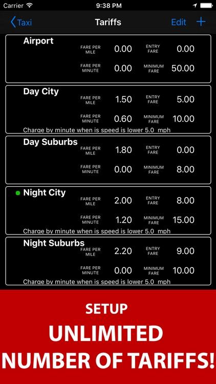 Taximeter. GPS taxi cab meter. screenshot-3